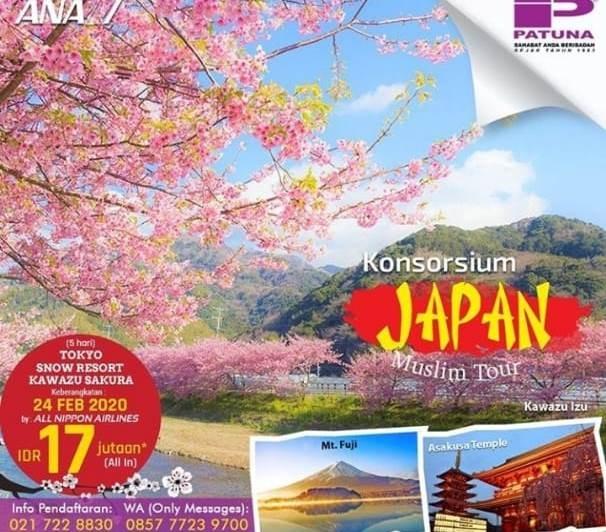 Bingung Ke Jepang Karena Mahal, Coba Ikut Paket Ini Saja