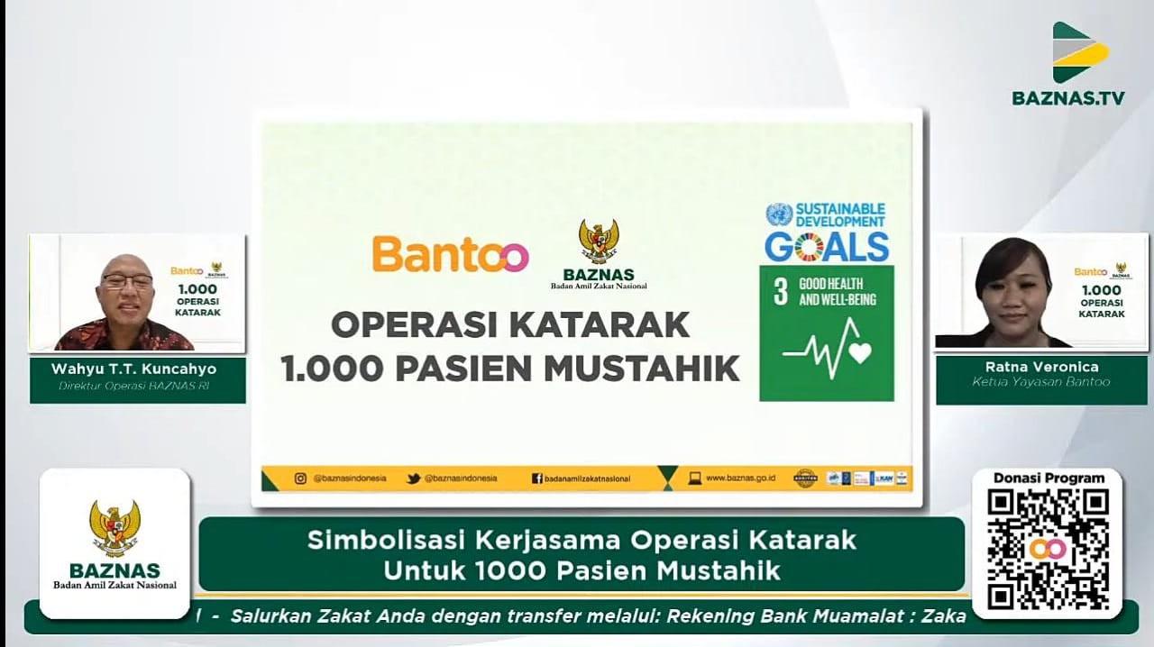 Bantu Operasi Katarak, BAZNAS : Target Kami 1000 Orang