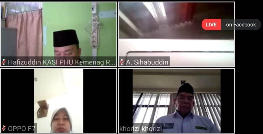 Alumni Petugas Haji Kembali Gelar Pembinaah Haji Berbasis Online