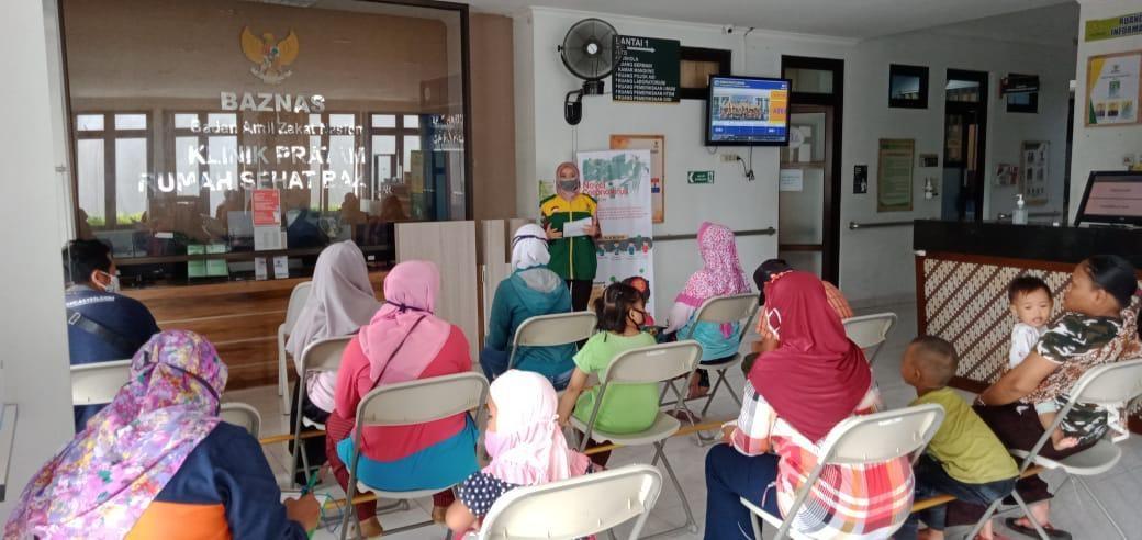 Satu Hari Sebelum Ramadhan, BAZNAS Gelar Edukasi Kesehatan Jiwa