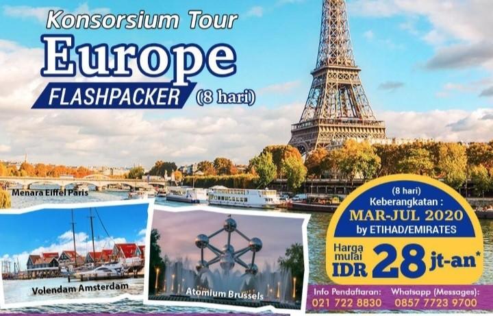 Ketika ke Eropa Barat, Jangan Lupa Mengunjungi Tempat-tempat Ini
