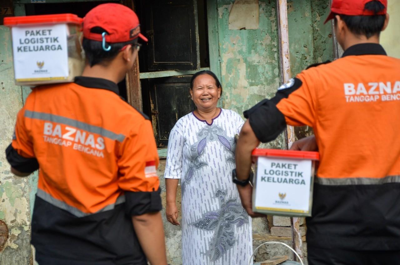 Soal Bantuan Darurat Ekonomi,  BAZNAS : Diberikan Buat Keluarga Miskin