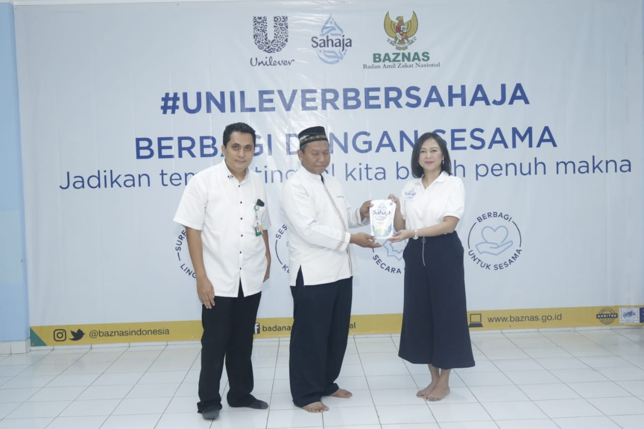 Bantu Yayasan di Tangsel, Unilever : Sejalan dengan Komitmen Brand Baru Kami