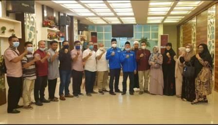 Bahas Info Terbaru Penyelenggaraa Haji dan Umrah, DPP AMPUH Kunjungi Bumi Makassar