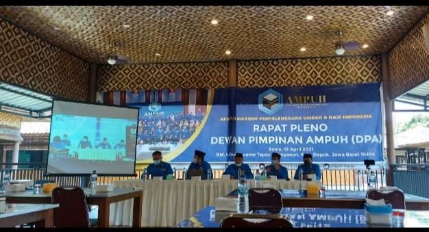 Gelar Rapat Pleno di Depok, DPP AMPUH Sediakan Layar Teve Cukup Besar