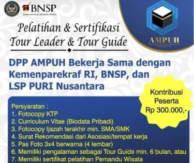 Gandeng BNSP, Asosiasi AMPUH Permudah Layanan Sertifikasi TL